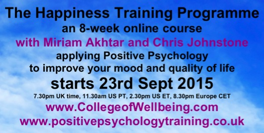 Happiness Course Flyer Sept2015
