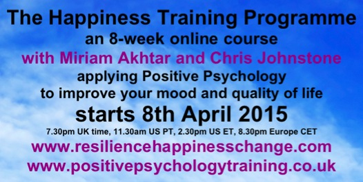 Happiness Course Flyer April15