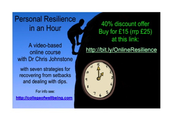 Personal Resilience 40% discount